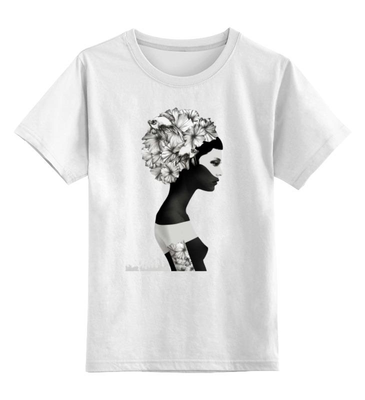 Printio Детская футболка классическая унисекс Девушка printio детская футболка классическая унисекс йога девушка