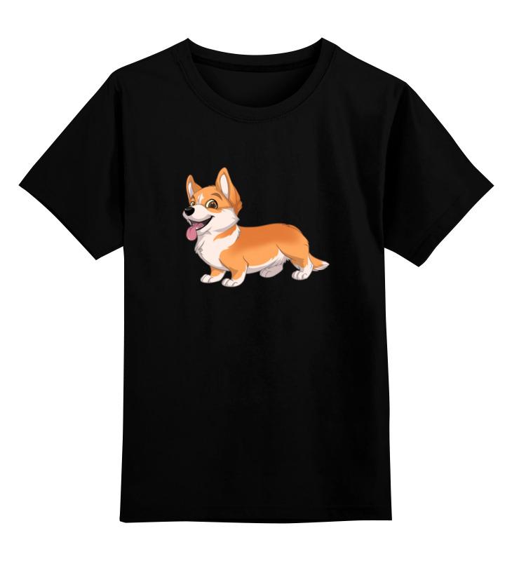 Printio Детская футболка классическая унисекс Вельш корги кардиган