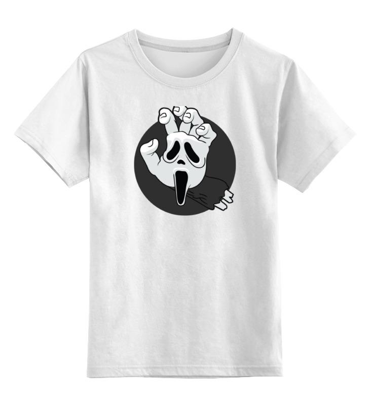 printio детская футболка классическая унисекс крик кальмара Printio Детская футболка классическая унисекс Крик (scream)