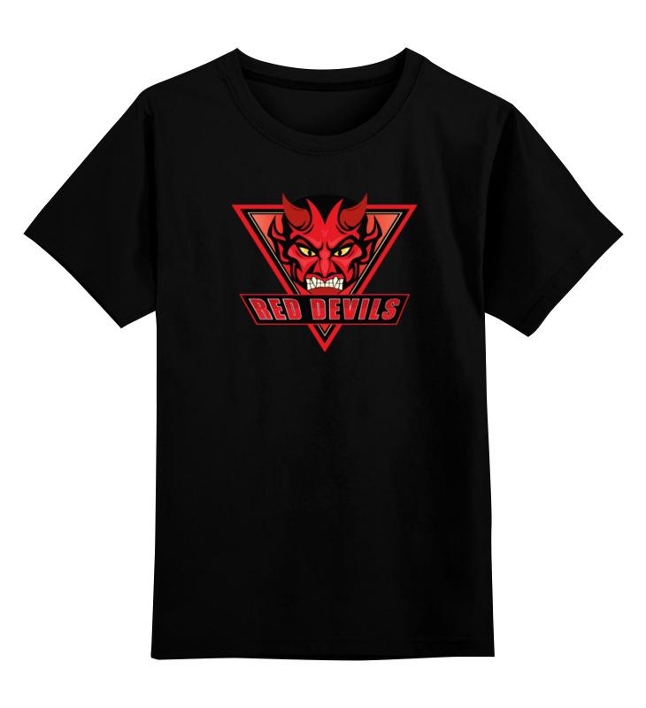 Printio Детская футболка классическая унисекс Red devils