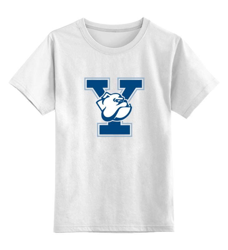 Printio Детская футболка классическая унисекс Yale bulldogs