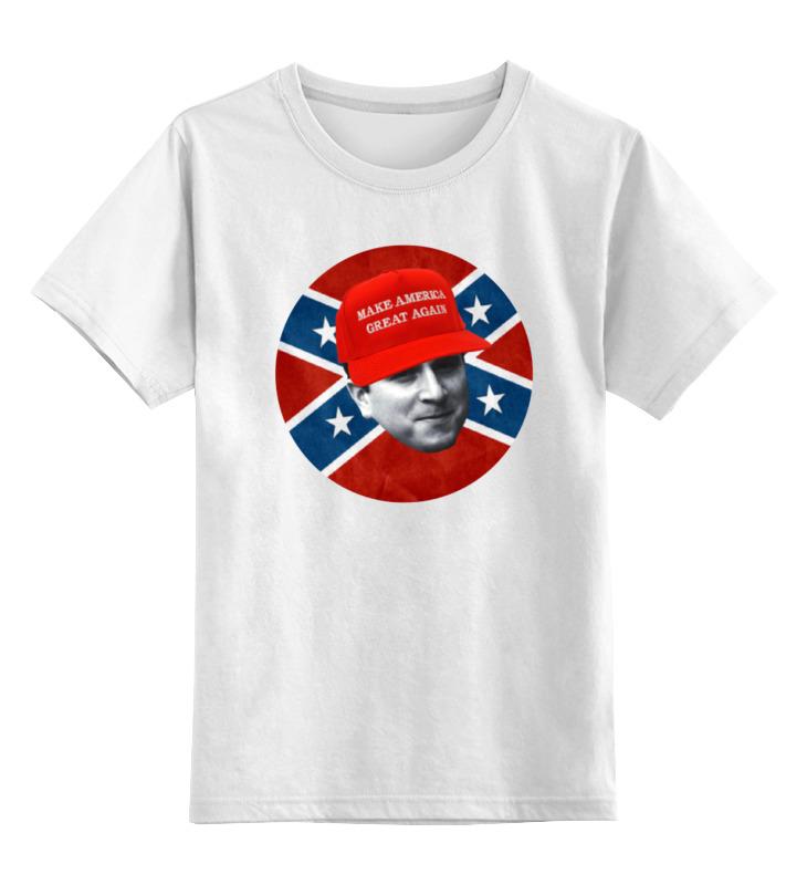 Printio Детская футболка классическая унисекс Dixie rebel kappa