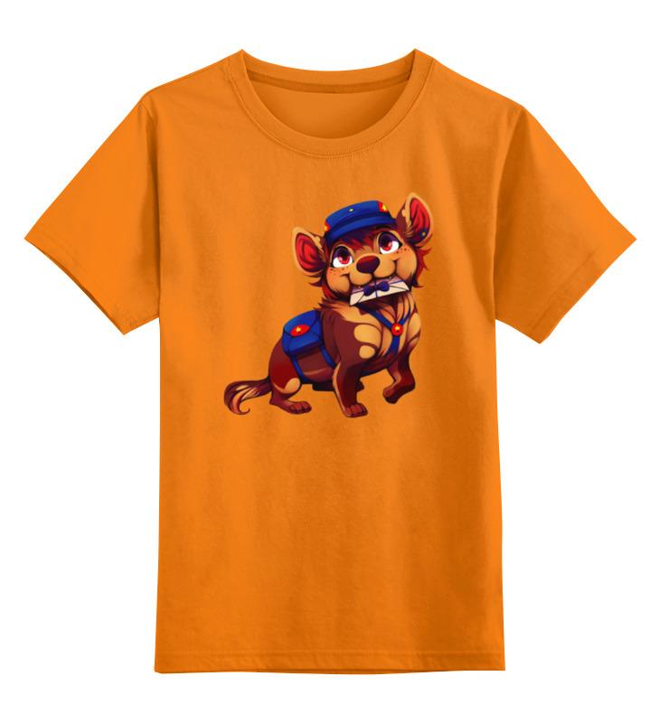 Printio Детская футболка классическая унисекс Собачка почтальон