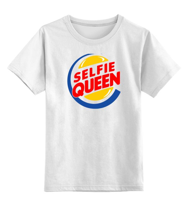 Printio Детская футболка классическая унисекс Королева селфи printio детская футболка классическая унисекс король селфи