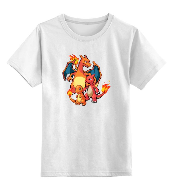 printio детская футболка классическая унисекс покемоны 8 бит драконы Printio Детская футболка классическая унисекс Покемоны 8-бит (драконы)