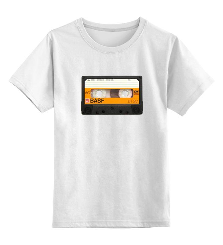 Printio Детская футболка классическая унисекс Кассета basf