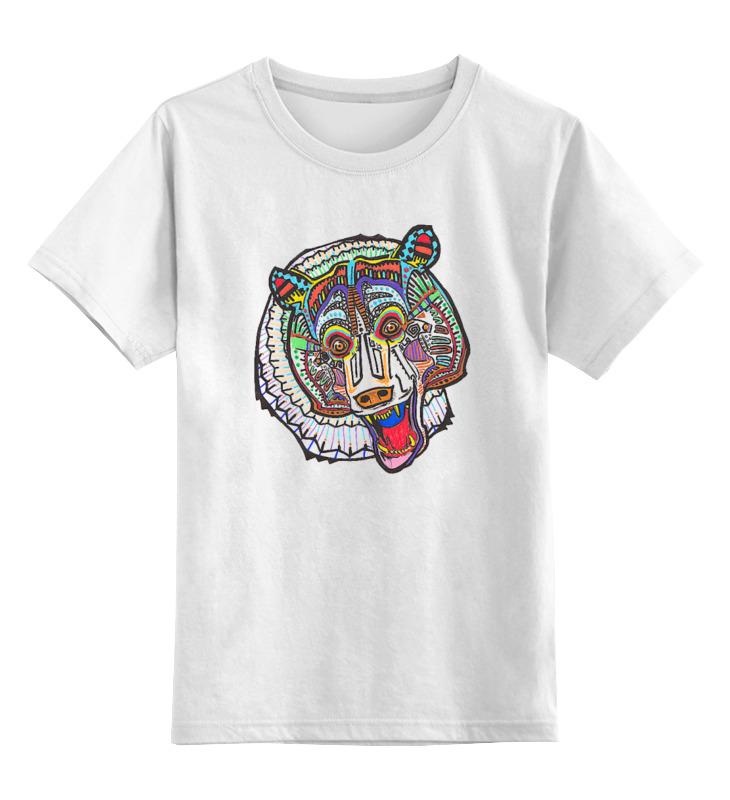 Printio Детская футболка классическая унисекс Медведь. символика