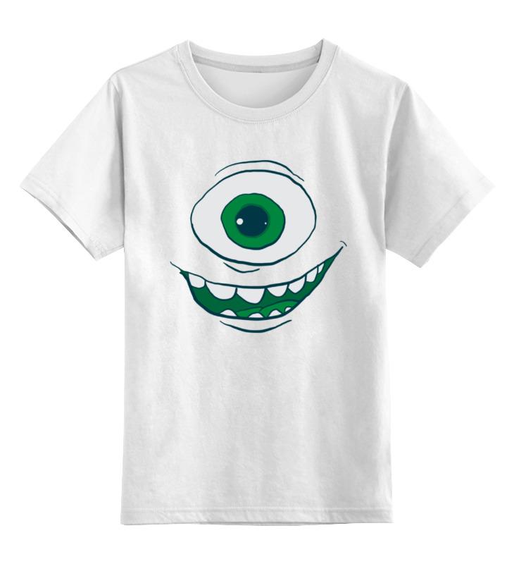 Printio Детская футболка классическая унисекс Майк вазовский (корпорация монстров)