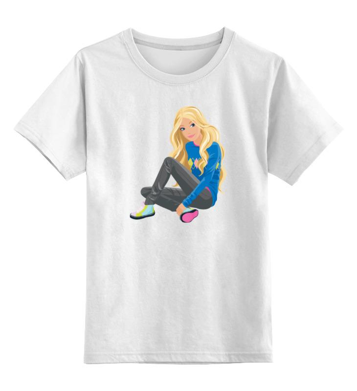 Printio Детская футболка классическая унисекс Городская девушка
