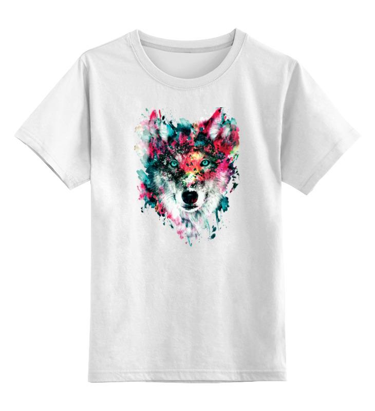Фото - Printio Детская футболка классическая унисекс Волк (абстракция) printio детская футболка классическая унисекс волк абстракция