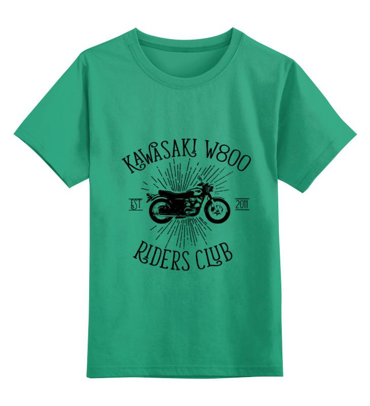 Printio Детская футболка классическая унисекс Kawasaki w800 riders club printio детская футболка классическая унисекс skate riders