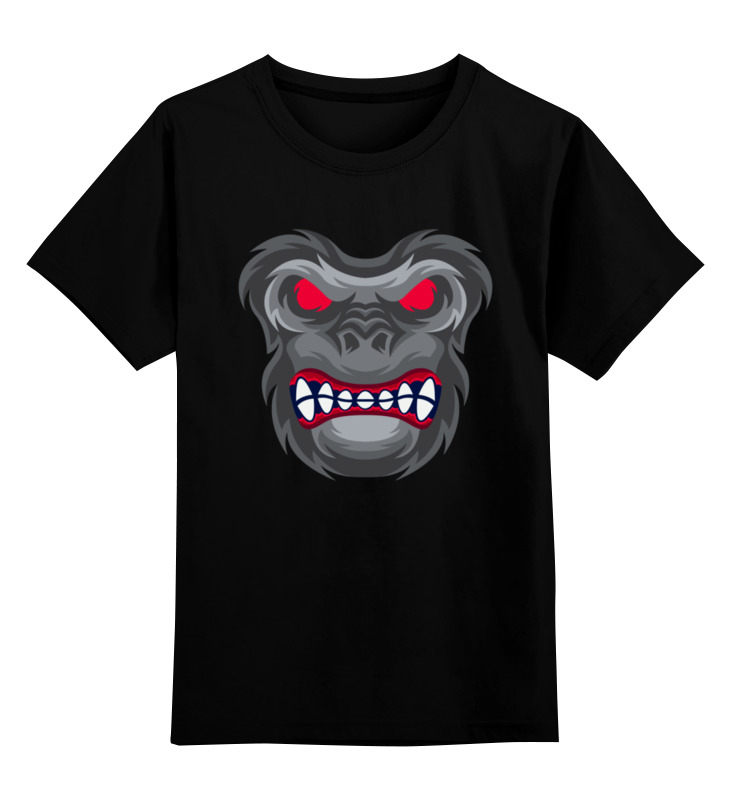 Printio Детская футболка классическая унисекс ♂gorilla♂ printio футболка классическая gorilla kratos