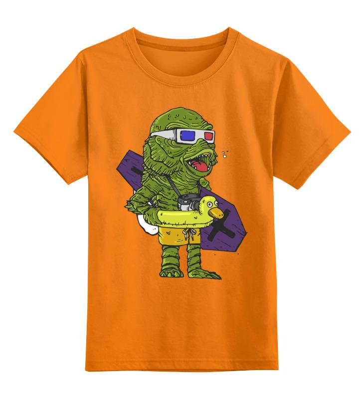 Printio Детская футболка классическая унисекс Тварь из чёрной лагуны