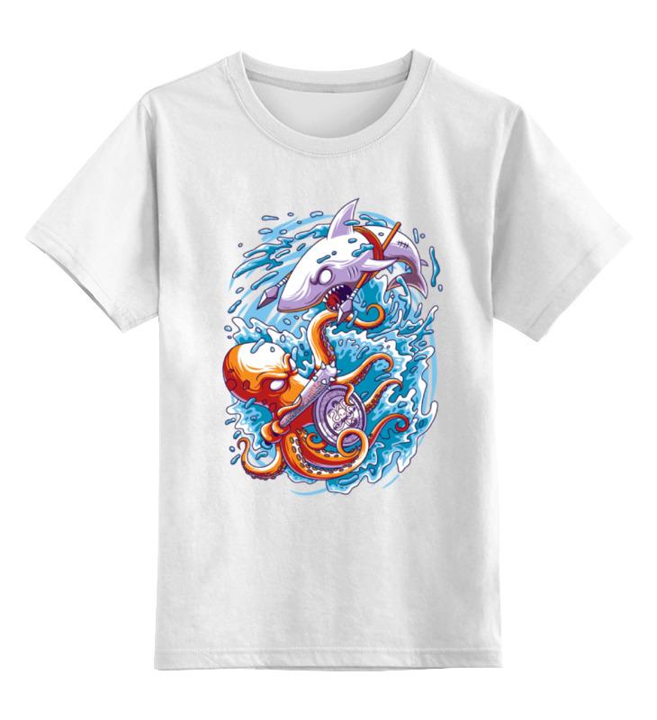 Printio Детская футболка классическая унисекс Морская борьба