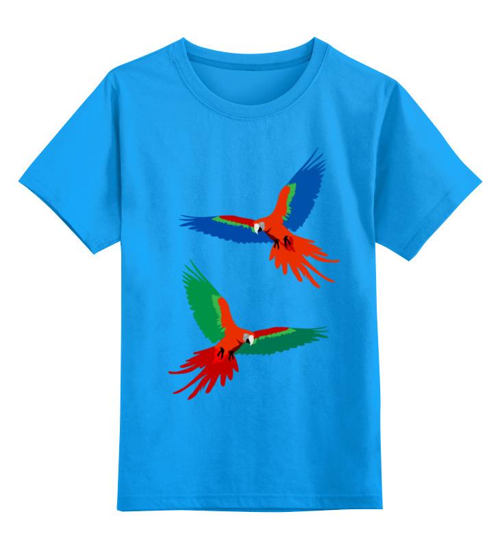 Printio Детская футболка классическая унисекс Попугаи ара