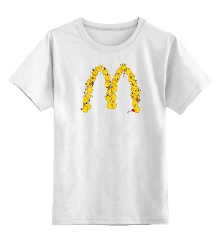 Printio Детская футболка классическая унисекс Макдак пародия