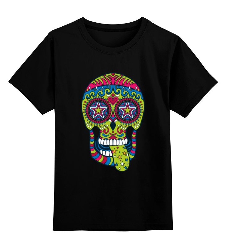 Printio Детская футболка классическая унисекс Череп