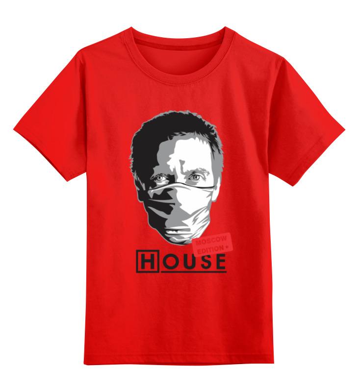 Фото - Printio Детская футболка классическая унисекс Dr house printio футболка классическая witch house