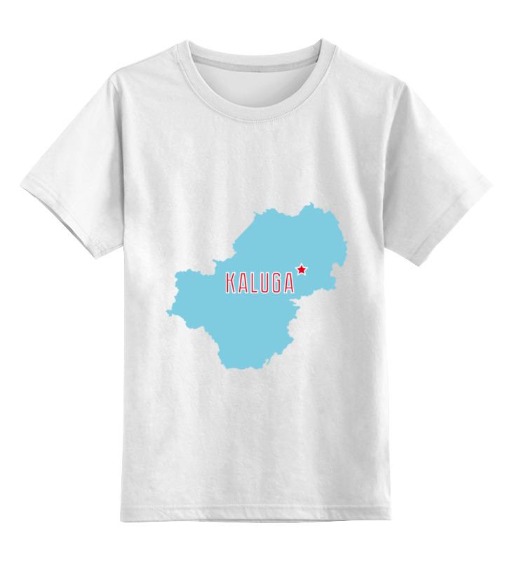 Printio Детская футболка классическая унисекс Калужская область. калуга