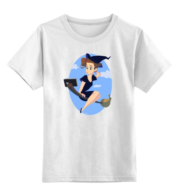 Printio Детская футболка классическая унисекс Ведьма селфи printio детская футболка классическая унисекс король селфи