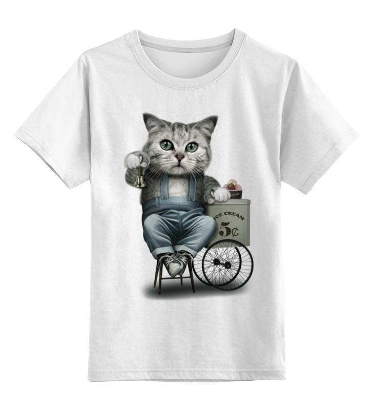 Printio Детская футболка классическая унисекс Продавец мороженого