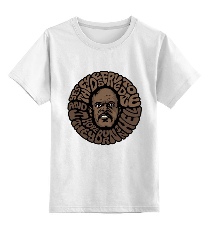 Printio Детская футболка классическая унисекс Сэмюэл лерой джексон