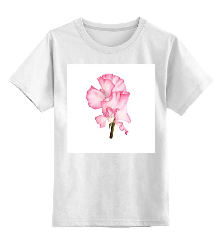 Printio Детская футболка классическая унисекс Ботаническая иллюстрация цветок душистый горошек