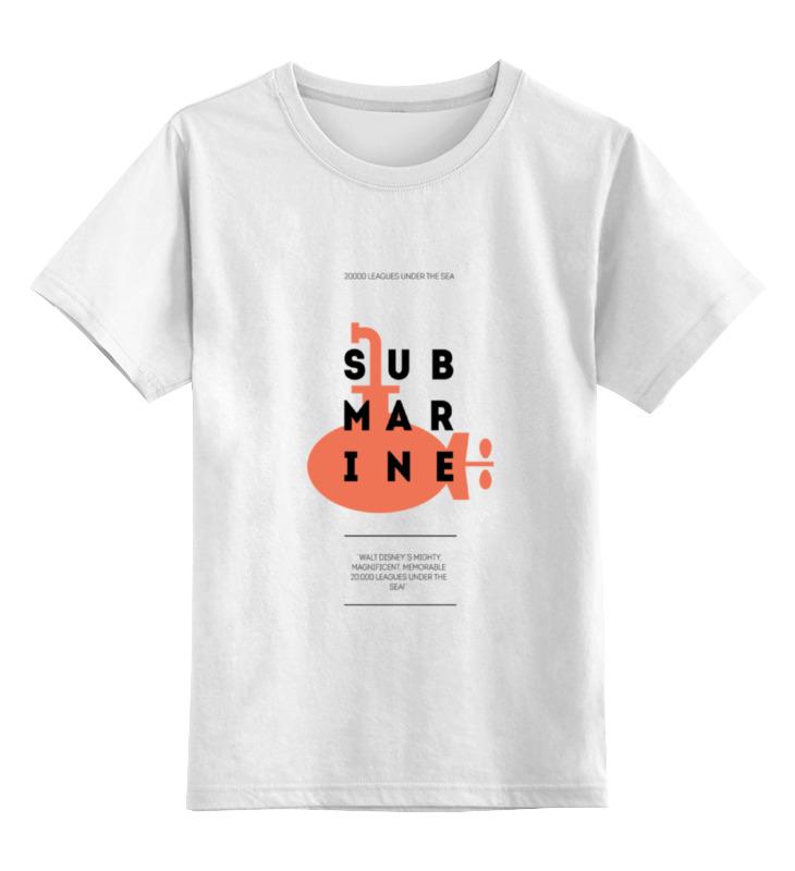 printio лонгслив submarine Printio Детская футболка классическая унисекс Submarine