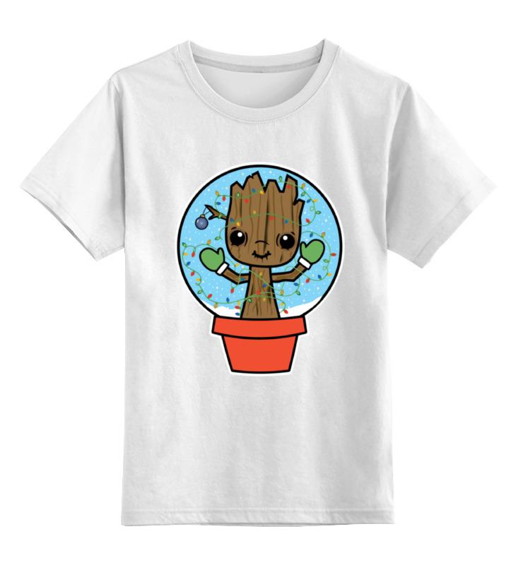 Printio Детская футболка классическая унисекс Грут (стражи галактики)