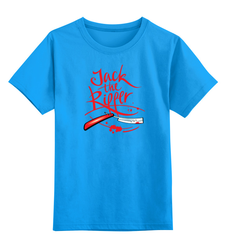 Printio Детская футболка классическая унисекс Jack the ripper