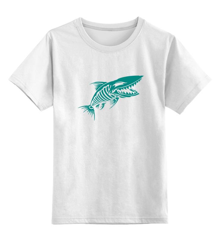 Фото - Printio Детская футболка классическая унисекс Рыба скелет printio детская футболка классическая унисекс скелет и жуткий кот