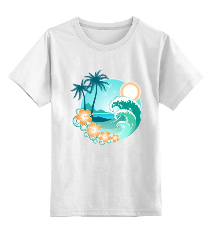 футболка классическая printio ямайка Printio Детская футболка классическая унисекс Ямайка