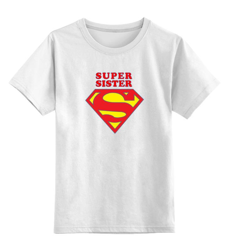 Printio Детская футболка классическая унисекс Super sister printio футболка классическая twisted sister