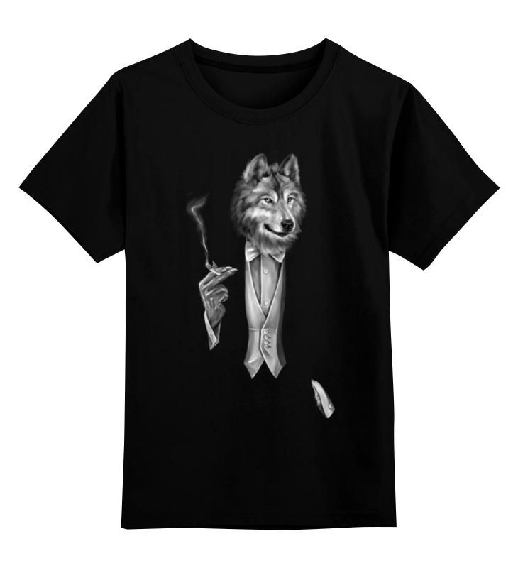Printio Детская футболка классическая унисекс Мистер волк