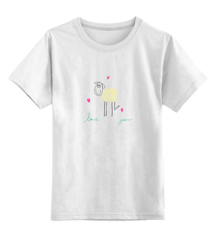 Фото - Printio Детская футболка классическая унисекс Влюбленная овечка printio футболка классическая овечка