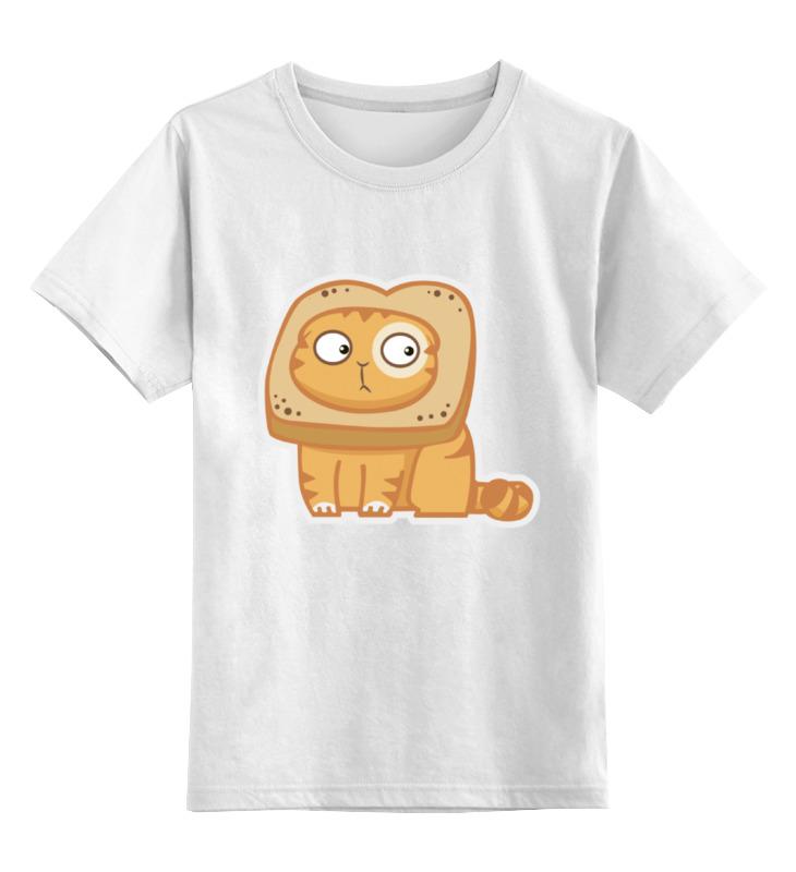 Printio Детская футболка классическая унисекс Кот персик