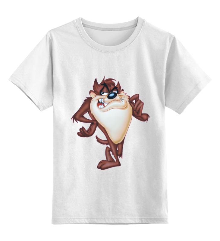 Printio Детская футболка классическая унисекс Тасманский дьявол printio лонгслив тасманский дьявол