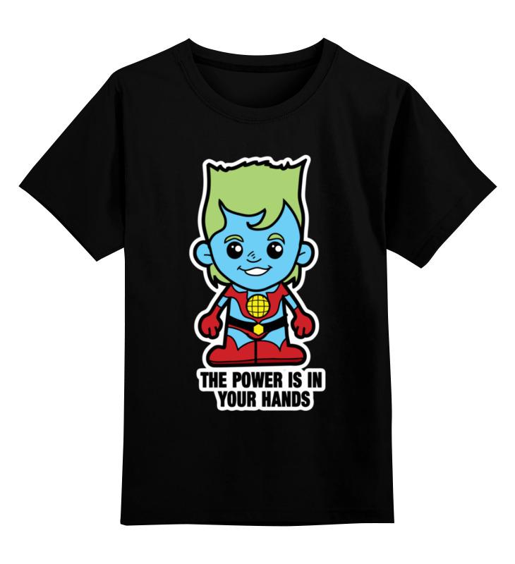 Printio Детская футболка классическая унисекс Капитан планета