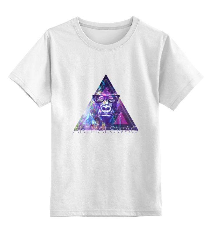 Printio Детская футболка классическая унисекс animalswag collection: gorilla printio футболка классическая gorilla kratos