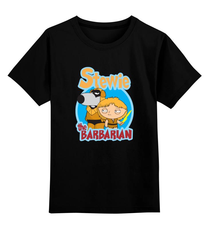 Printio Детская футболка классическая унисекс Стьюи (гриффины)