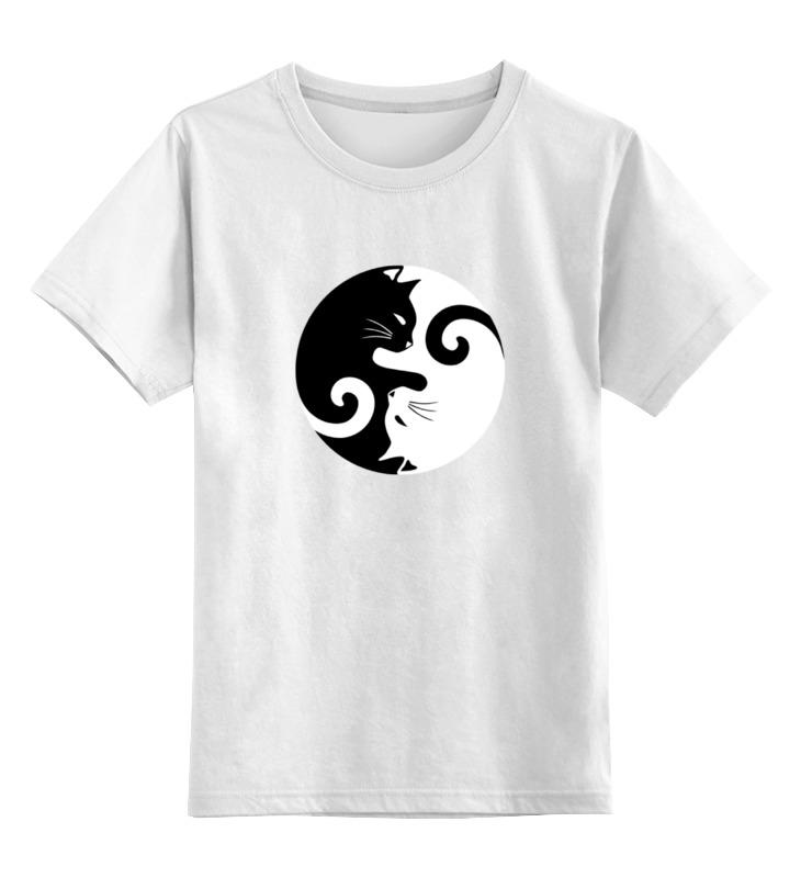 Printio Детская футболка классическая унисекс Инь и янь