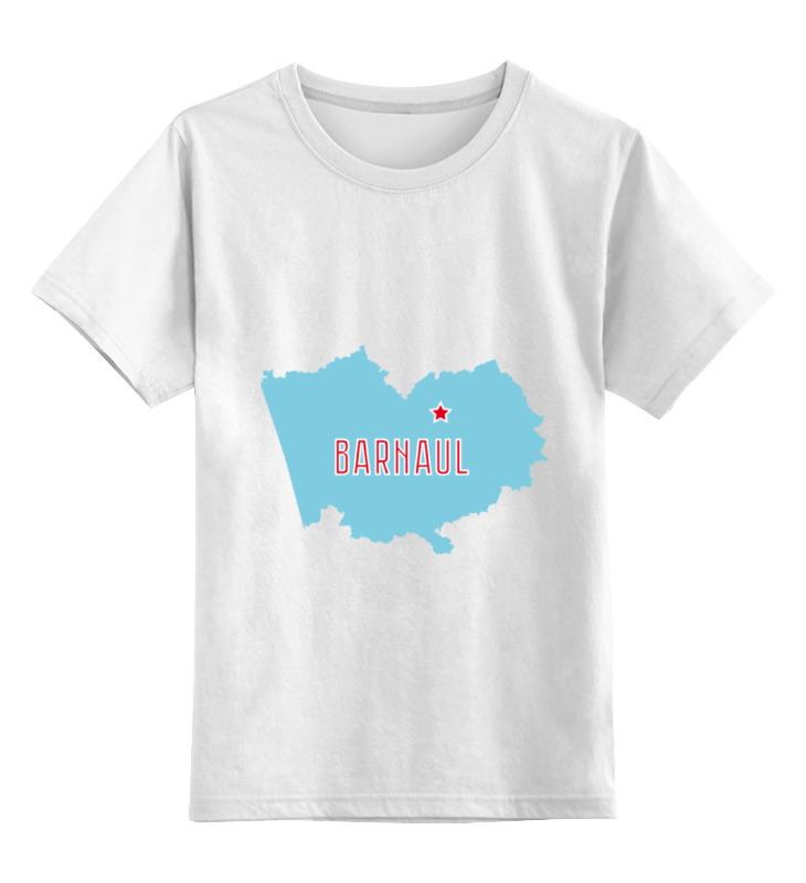 Printio Детская футболка классическая унисекс Алтайский край. барнаул