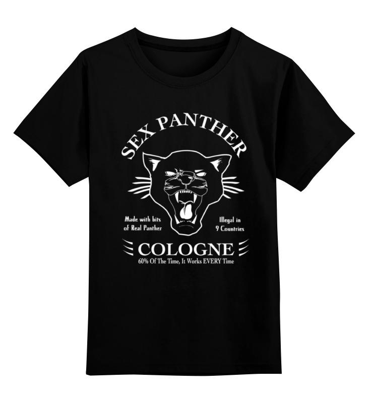 Printio Детская футболка классическая унисекс Sex panther (секс пантера)