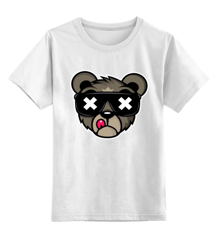 Printio Детская футболка классическая унисекс Crew five cali bear printio футболка классическая crew five cali bear