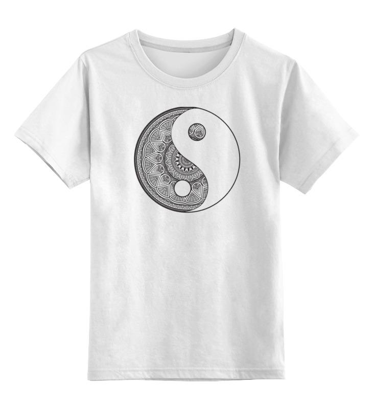 Printio Детская футболка классическая унисекс Инь и ян