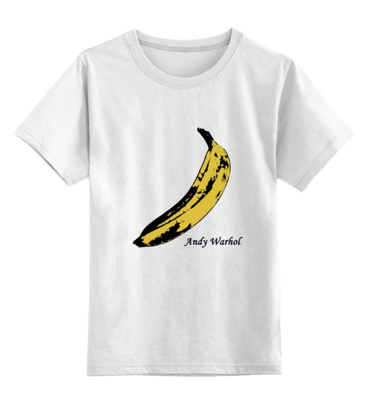 детская футболка классическая унисекс printio banana coffee minion Printio Детская футболка классическая унисекс Andy banana
