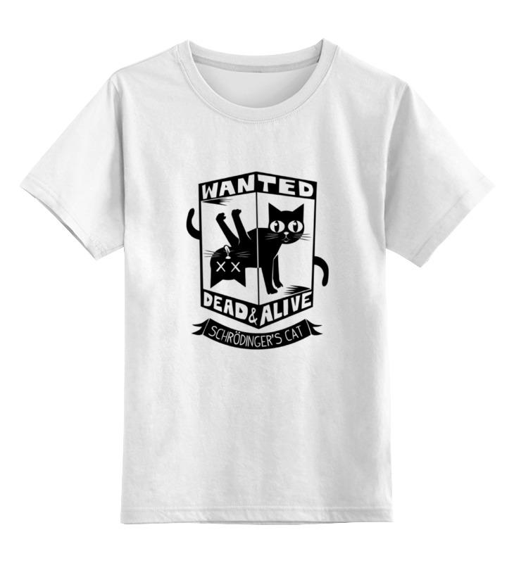 Printio Детская футболка классическая унисекс Кот шрёдингера (dead alive) printio детская футболка классическая унисекс кот шрёдингера dead alive