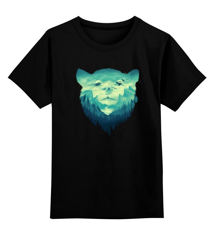 Printio Детская футболка классическая унисекс Медвежий край