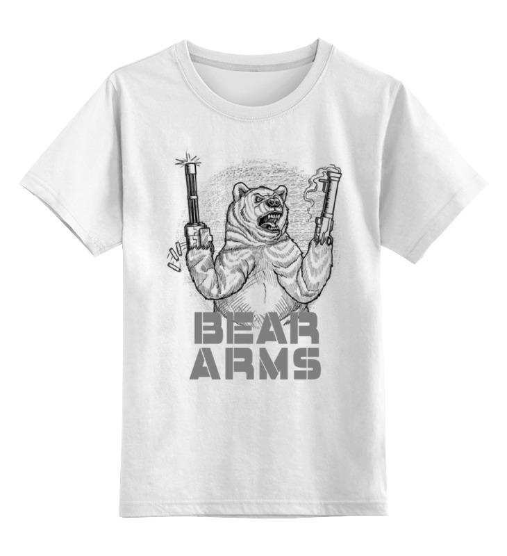 Printio Детская футболка классическая унисекс Bear arms printio футболка классическая crew five cali bear