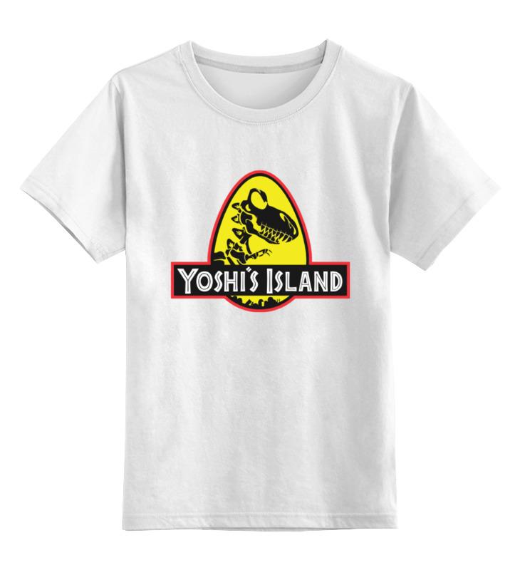 Printio Детская футболка классическая унисекс Yoshi (mario) футболка классическая printio yoshi mario